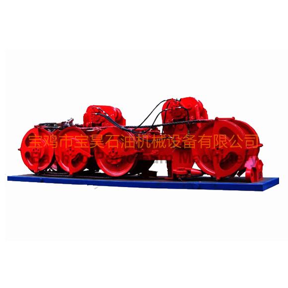 液压油缸式防喷器吊移装置