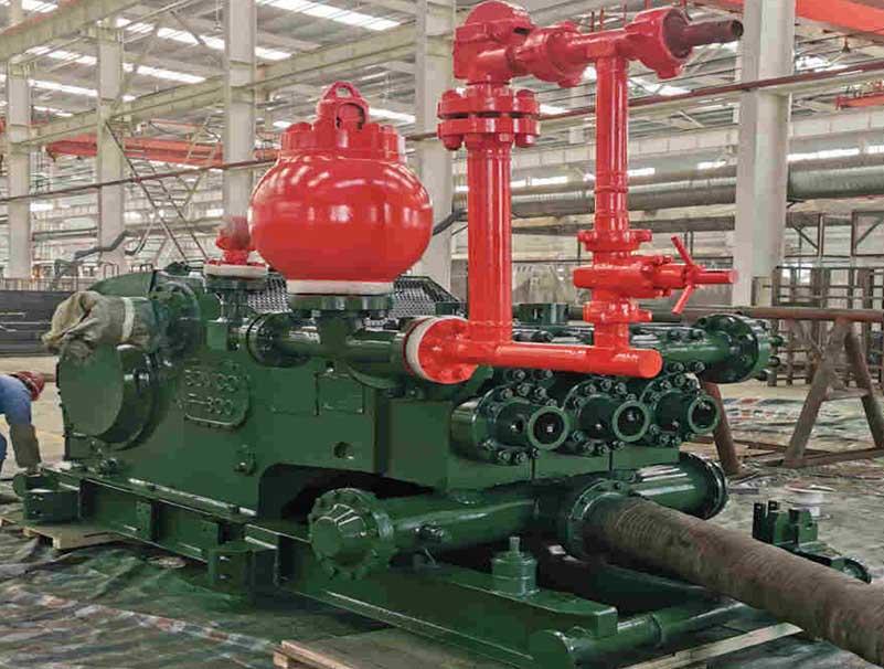 宝昊石油顺利完成 BOMCO F800钻井泥浆泵大修工作